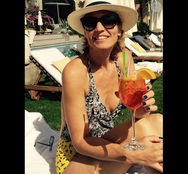 Alexandra Lamy fête ses vacances sur Instagram