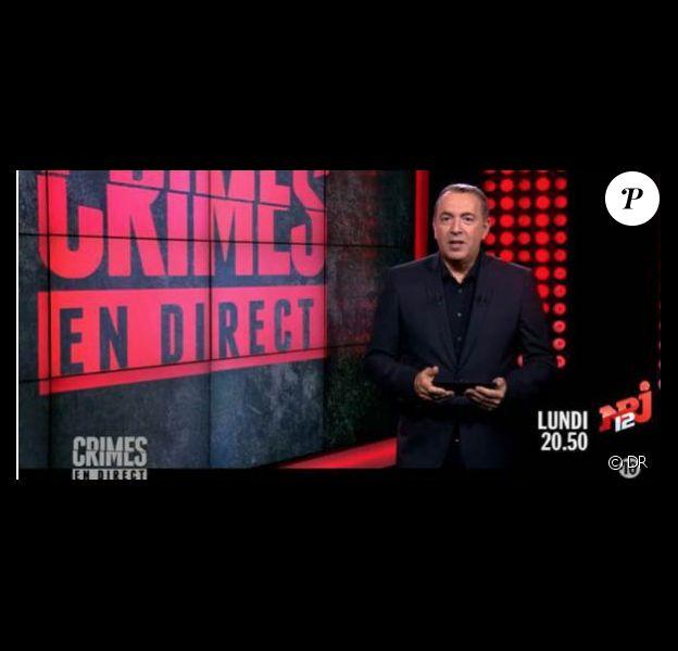 Jean-Marc Morandini dans Crimes sur NRJ12.