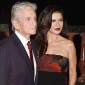 Catherine Zeta-Jones et Michael Douglas : Un baiser pour fêter un bel événement