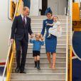 Le prince William, duc de Cambridge, et Kate Middleton, duchesse de Cambridge, sont arrivés le 24 septembre 2016 à Victoria au Canada avec leurs enfants le prince George et la princesse Charlotte pour leur tournée officielle, accueillis notamment par le Premier ministre Justin Trudeau.