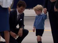 Kate Middleton et William au Canada : Et George mit un vent au Premier ministre...