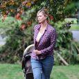Charlize Theron a pris du poids pour le tournage du film Tully' à Vancouver, le 26 septembre 2016