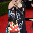 Katy Perry et Madonna au Metropolitan Museum of Art Met Gala à New York, le 4 mai 2015.