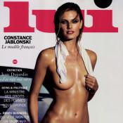 """Constance Jablonski topless pour """"Lui"""" : Shooting torride pour le top français"""