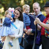 La princesse Charlotte marche et parle, George bulle: les Cambridge à la fête !