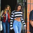 Exclusif - Kendall Jenner quitte l'hôtel The Bowery à New York, le 27 septembre 2016.