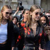 Fashion Week : Gigi Hadid et Karlie Kloss s'enivrent du style Mugler