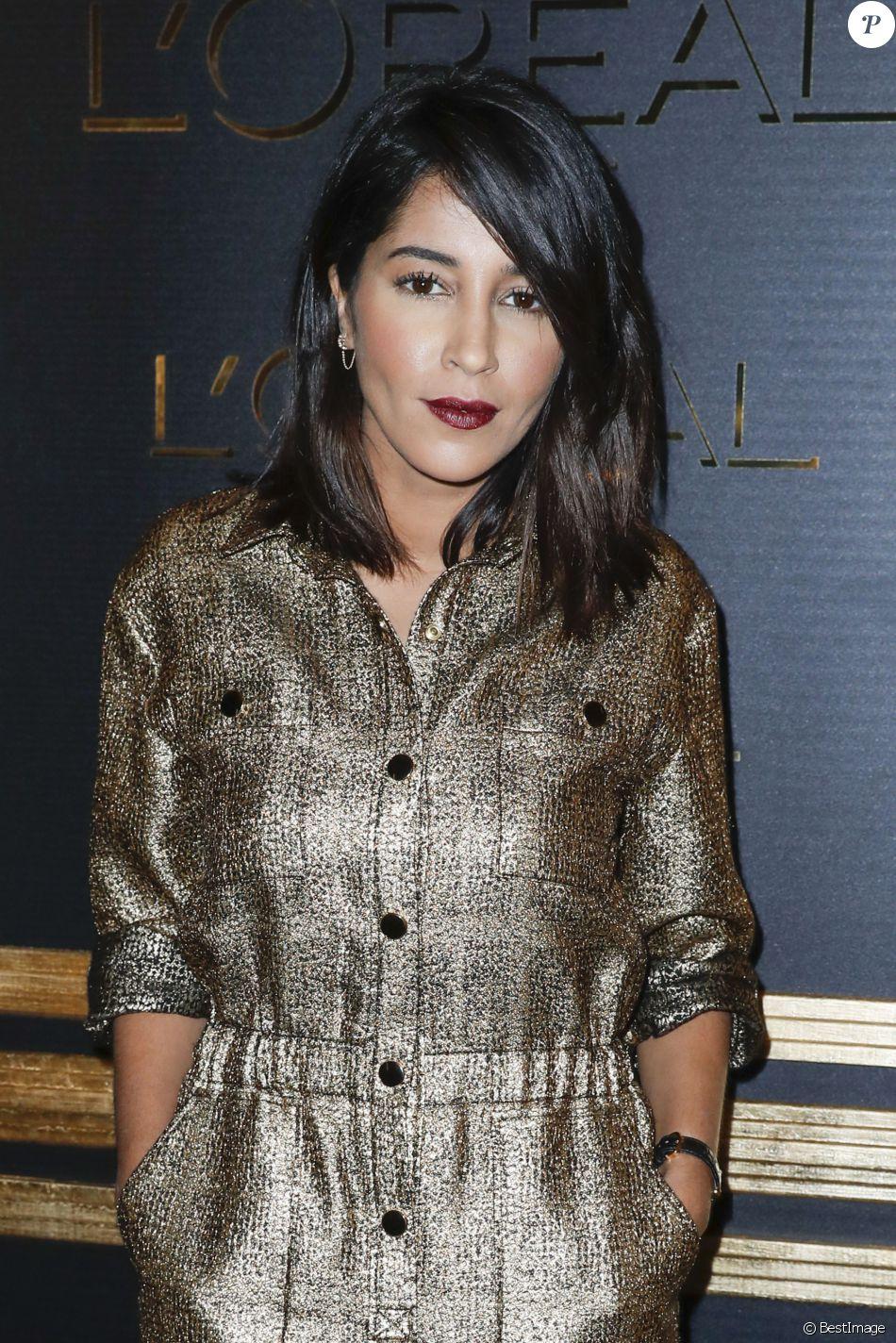 """Leïla Bekhti - Soirée """"Gold Obsession"""" de L'Oréal à la Monnaie de Paris lors de la Fashion Week de Paris, France, le 2 octobre 2016."""