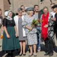"La princesse Beatrix des Pays-Bas lors de la réouverture du moulin ""Mill The Hope"", construit en 1853 et rénové pendant 5 ans, à Oldebroek. Le 21 septembre 2016  Oldebroek, 21-09-2016 Princess Beatrix at the opened the restored Mill The Hope in Oldebroek. Built in 1853 and restored in 5 years21/09/2016 - Oldebroek"