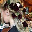 La coiffure de Zosia Mamet pour son mariage le 2 octobre 2016.