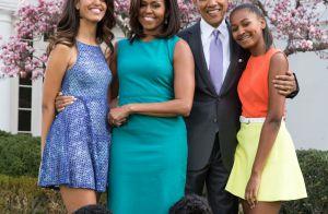 Malia et Sasha Obama, demoiselles d'honneur grâce à leurs parents...