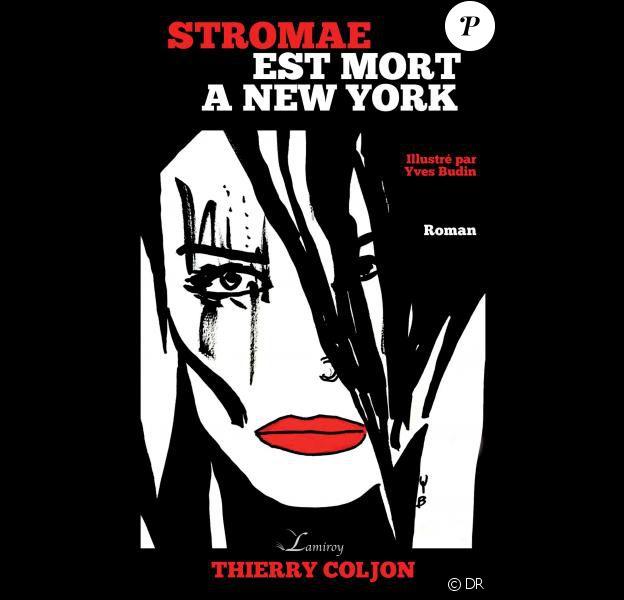 """Couverture du roman """"Stromae est mort à New York"""", sorti le 1er octobre 2016 aux éditions Lameroy."""