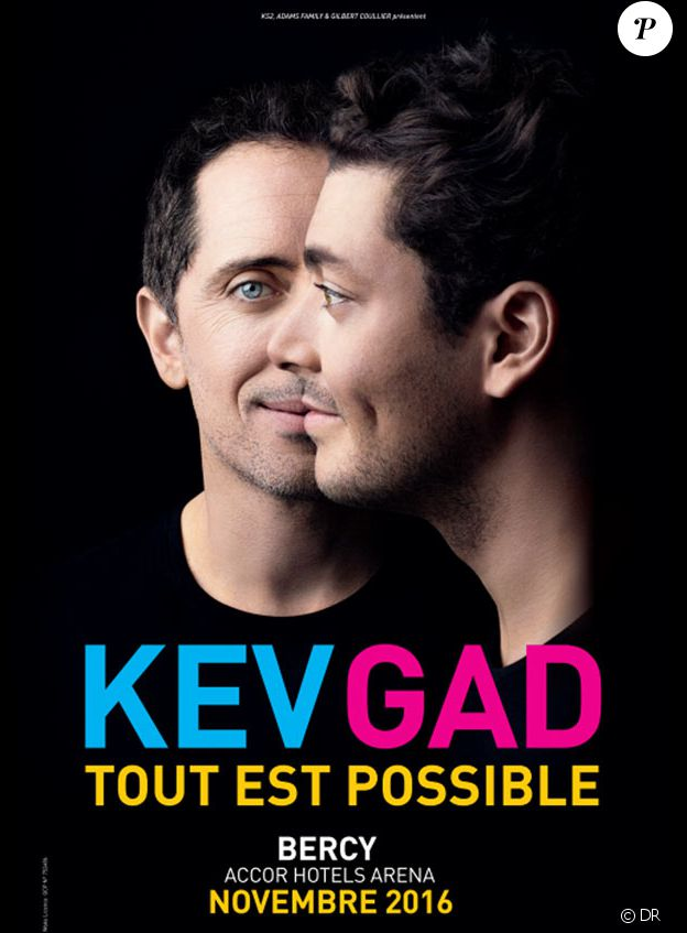 Kev & Gad - Tout est possible - en tournée à partir du 8 octobre et du 23 novembre au 4 décembre 2016 à l'AccorHotels Arena de Paris.