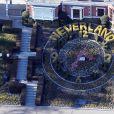 Vue générale du ranch de Neverland prise le 15 janvier 2013.