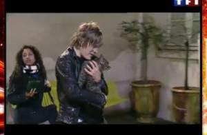VIDEOS Star Ac' 8 : Pendant que Mickels stresse, Gautier... adopte un chat !
