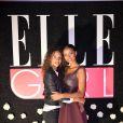"""Noémie Lenoir et Flora Coquerel- Soirée de lancement de la chaîne """"ELLE Girl"""". Paris, le 6 octobre 2016. © Veeren/Bestimage"""