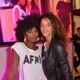"""Inna Modja et Noémie Lenoir- Soirée de lancement de la chaîne """"ELLE Girl"""". Paris, le 6 octobre 2016. © Veeren/Bestimage"""
