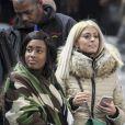"""Mélanie la compagne d'Anthony Martial au match de qualification pour la Coupe du Monde 2018, """"France-Bulgarie"""" au Stade de France au Saint-Denis, le 7 octobre 2016"""