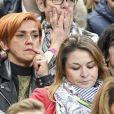 """Isabelle Griezmann la mère d'Antoine Griezmann au match de qualification pour la Coupe du Monde 2018, """"France-Bulgarie"""" au Stade de France au Saint-Denis, le 7 octobre 2016"""