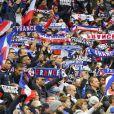 """Illustration lors du match de qualification pour la Coupe du Monde 2018, """"France-Bulgarie"""" au Stade de France au Saint-Denis, le 7 octobre 2016"""