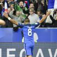"""Dimitri Payet lors du match de qualification pour la Coupe du Monde 2018, """"France-Bulgarie"""" au Stade de France au Saint-Denis, le 7 octobre 2016"""