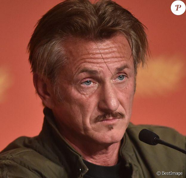 """Sean Penn - Conférence de presse du film """"The Last Face"""" lors du 69ème Festival International du Film de Cannes. Le 20 mai 2016."""