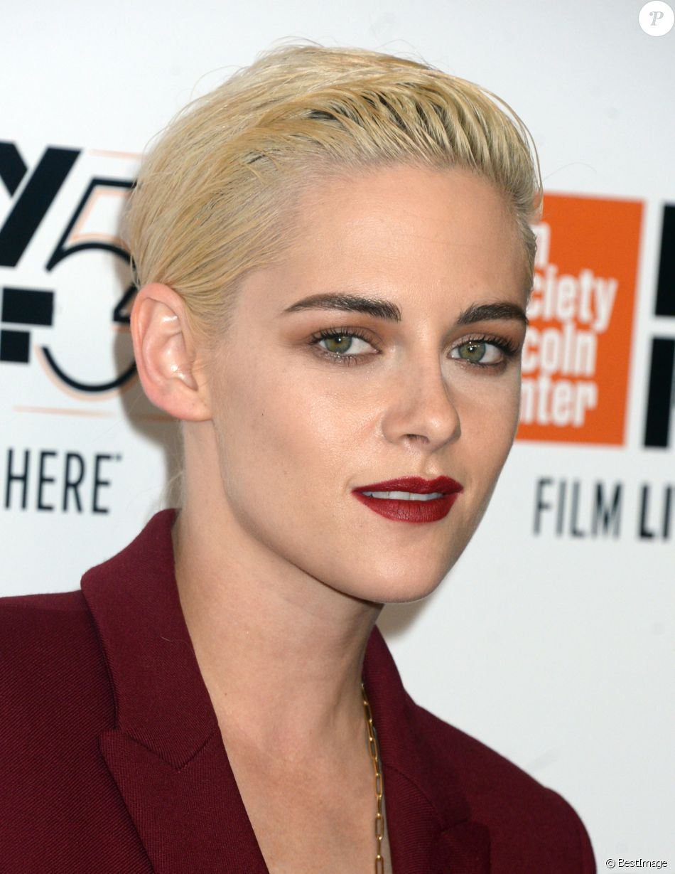 "Kristen Stewart lors de la première du film ""Certain Women"" pendant le 54ème Festival du Film de New York, au Alice Tully Hall à New York, le 3 octobre 2016."