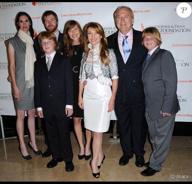 Jane Seymour et toute famille au Gala de la Fondation Christopher et Dana Reeve, le 2/12/08