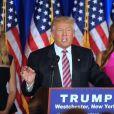Ivanka Trump, Melania Trump - Donald Trump s'adresse à ses supporters et aux médias pendant un meeting à Briarcliff Manor le 7 juin 2016