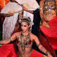 """Vahina Giocante - Soirée de lancement de la série """"Mata Hari"""" produite par Star Media en partenariat avec Channel One Russia et Inter Ukraine, au MIPCOM 2016 à Cannes le 16 octobre 2016. © Bruno Bebert/Bestimage"""