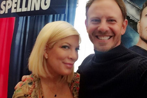 Tori Spelling et Ian Ziering : Les stars de Beverly Hills se retrouvent