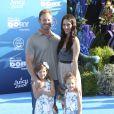 """Ian Ziering, sa femme Erin Kristine Ludwig et leurs filles Mia Loren Ziering et Penna Mae Ziering lors de la première mondiale de Disney-Pixar """"Finding Dory"""" à Hollywood, le 8 juin 2016."""