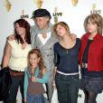 Bob Geldof et Fifi Trixiebelle, Peaches Honeyblossom, Pixie ainsi que Heavenly Hiraani Tiger Lily