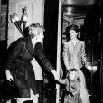 David Bowie avec son ex et leur fils Zowie