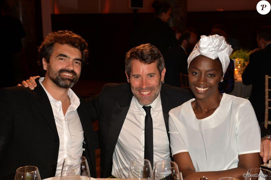 Aissa maiga et son compagnon - Damien thevenot et son compagnon ...