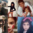 Kris Jenner souhaite une joyeux anniversaire à sa fille Kim Kardashian sur Isntagram en postant des photos d'archive, le 21 octobre 2016.