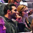Maxim Nucci (Yodelice) et Isabelle Ithurburu assistaient à la cérémonie des Sportel Awards, au Grimaldi Forum à Monaco le 25 octobre 2016. La journaliste de Canal+ faisait partie du Jury du Prix de la Publicité lors de cet événement qui récompense les plus belles vidéos de sport et les plus beaux ouvrages illustrés sur le sport, à Monaco, le 25 octobre 2016. © Bruno Bebert/Bestimage
