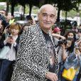 """Pascal Nègre - Arrivées au défilé de mode Haute-Couture automne-hiver 2016/2017 """"Chanel"""" à Paris. Le 5 juillet 2016."""