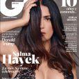 Salma Hayek en converture du magazine GQ qui fête ses 10 ans.