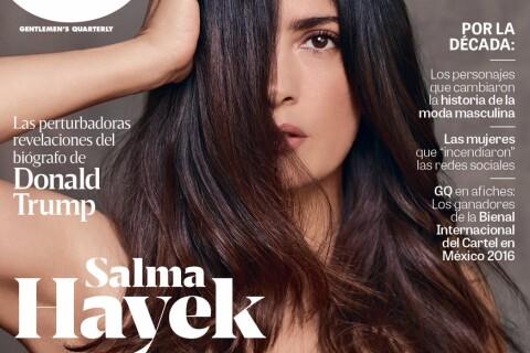Salma Hayek, bombe au décolleté incendiaire pour un anniversaire glamour