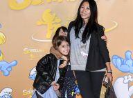 Anggun, Carole Rousseau et leurs enfants, s'éclatent avec les Schtroumpfs !