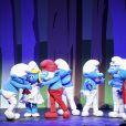 """Exclusif - Première du spectacle """"Les Schtroumpfs"""" aux Folies Bergère à Paris, le 20 octobre 2016. © Pierre Perusseau/Bestimage"""
