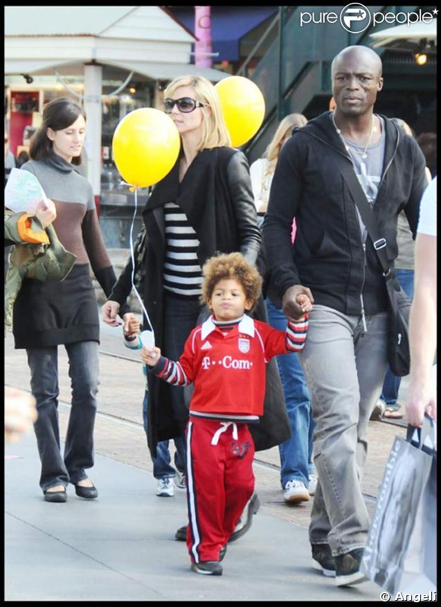 Heidi Klum, Seal, et leur fils Henry