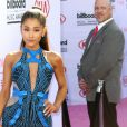 Ariana Grande à la soirée Billboard Music Awards à T-Mobile Arena à Las Vegas, le 22 mai 2016