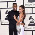 Big Sean et sa petite-amie Ariana Grande à la 57ème soirée annuelle des Grammy Awards au Staples Center à Los Angeles, le 8 février 2015.