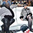 Exclusif - Magloire, Geneviève de Fontenay - Concours de créateurs de mode à la foire expo de Cherbourg-en-Cotentin sur le thème de l'Irlande dans la Grande Halle de La Cité de la Mer à Cherbourg-en-Cotentin, France, le 31 octobre 2016.