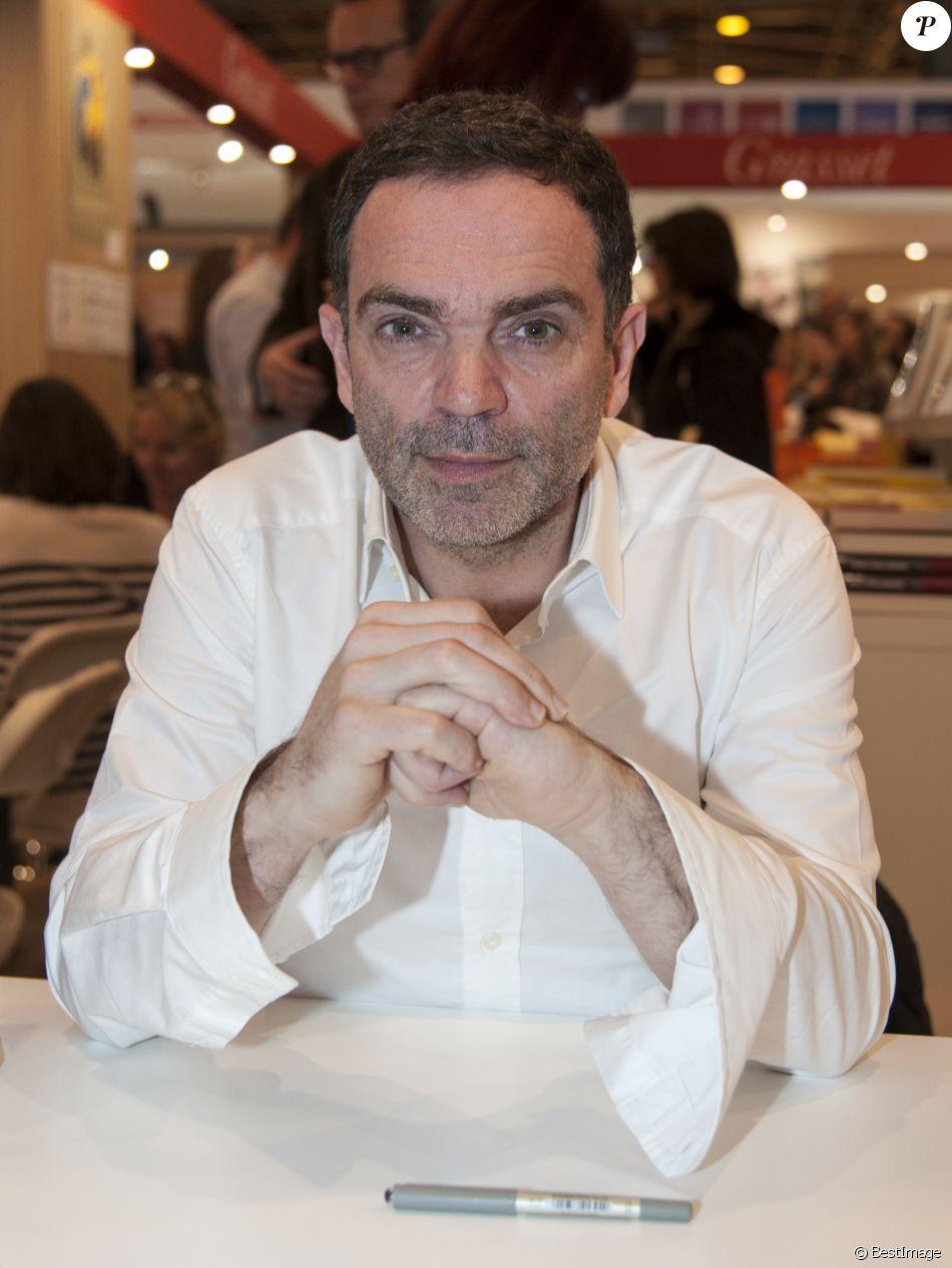 Yann Moix Present Au 33eme Salon Du Livre Au Parc Des