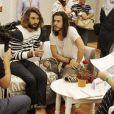 Exclusif - Fréro Delavega - Backstage, balance et conférence de presse du 11ème concert de la Tolérance à Agadir le 22 octobre 2016. Le concert sera diffusé le samedi 5 novembre 2016 à 20h50 sur la chaine W9.