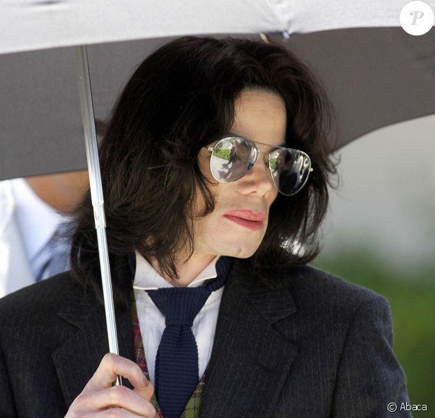Michael Jackson à Santa Maria en juin 2005.