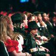 MICHAEL JACKSON ET JORDAN CHANDLER AUX WORLD MUSIC AWARDS ÀMONACO. MAI 1993.